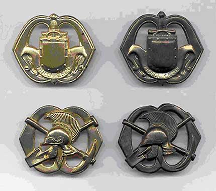 hoornse slag, 4 emblemen