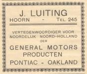 J. Luiting -  General Motors Producten