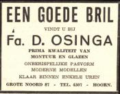 advertentie - Fa. D. Osinga