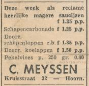 advertentie - C. Meyssen