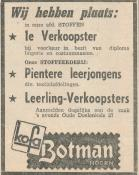advertentie - Botman Kofa