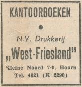 advertentie - N.V. Drukkerij West-Friesland