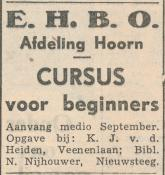 advertentie - E.H.B.O.