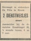 advertentie - De Villa