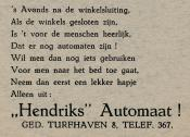 advertentie - HENDRIKS