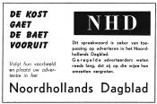advertentie - Noordhollands Dagblad