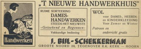 advertentie - Bijl-Schekkerman